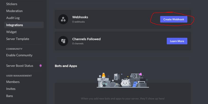 Membuat Discord Webhooks Untuk Notifikasi Github Repository